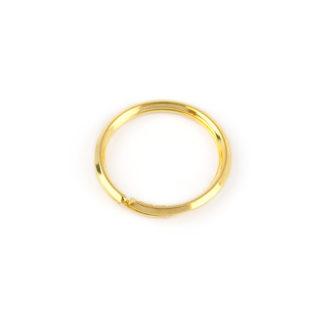Portachiavi uomo oro giallo, idea regalo uomo portachiavi in oro giallo tit 750 (18 kt) diametro 2,70 cm e spessore 2,90 mm